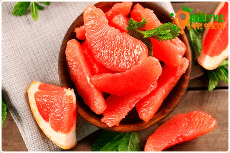 грейпфрут плоды